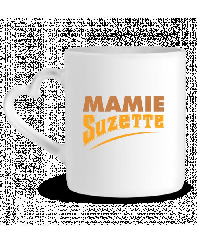 Mug Coeur MAMIE Suzette par tunetoo