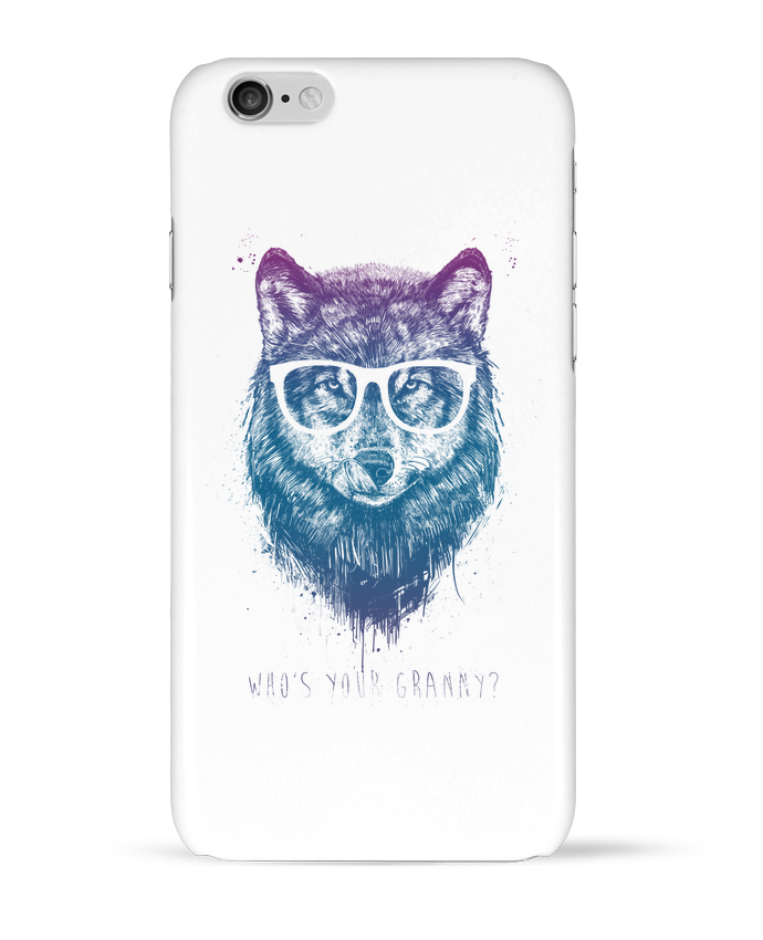 Coque 3D Iphone 6 whos_your_granny par Balàzs Solti