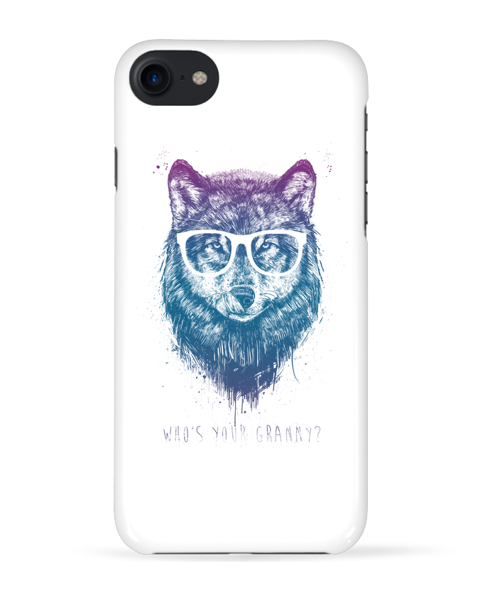 Coque 3D Iphone 7 whos_your_granny de Balàzs Solti