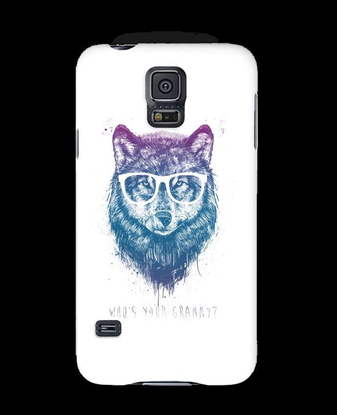 Coque 3D Samsung Galaxy S5 whos_your_granny par Balàzs Solti