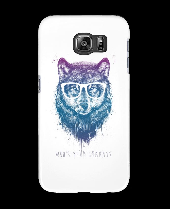 Coque 3D Samsung Galaxy S6 whos_your_granny - Balàzs Solti