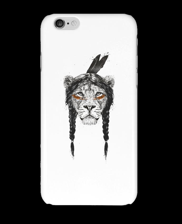 Coque 3D Iphone 6 warrior_lion par Balàzs Solti