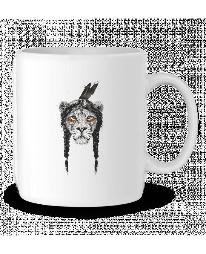 Mug en Céramique warrior_lion par Balàzs Solti