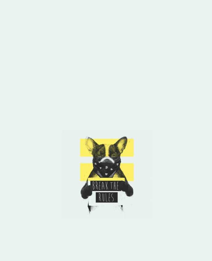 Sac en Toile Coton rebel_dog_yellow par Balàzs Solti