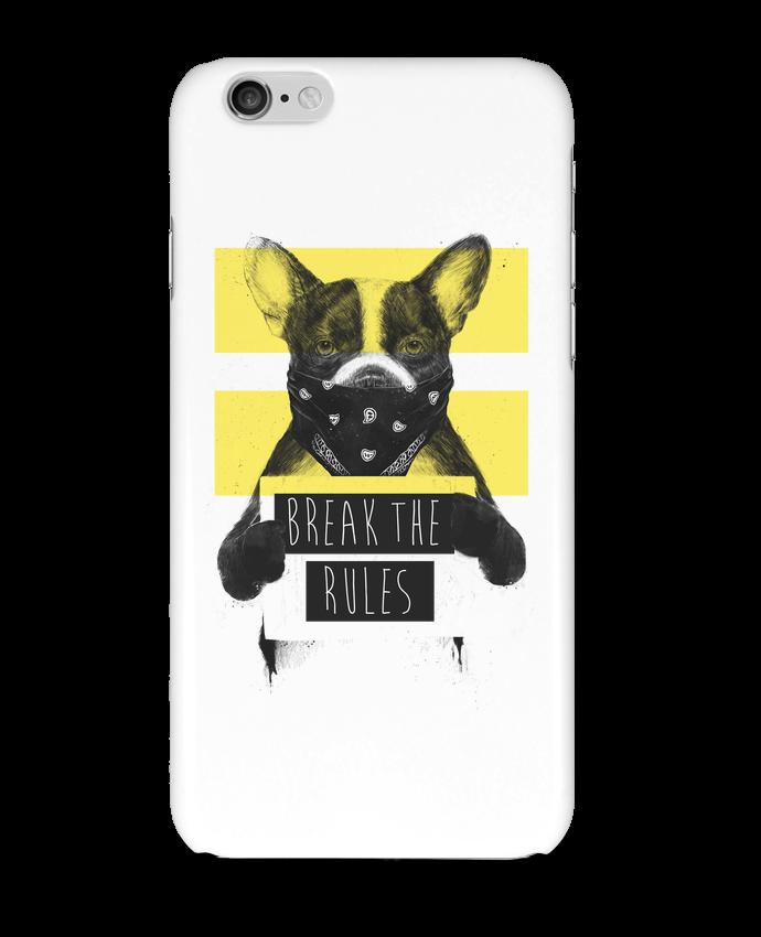 Coque 3D Iphone 6 rebel_dog_yellow par Balàzs Solti