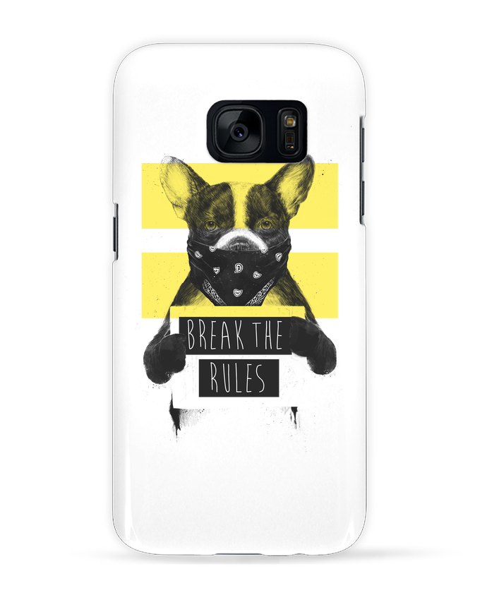 Coque 3D Samsung Galaxy S7 rebel_dog_yellow par Balàzs Solti