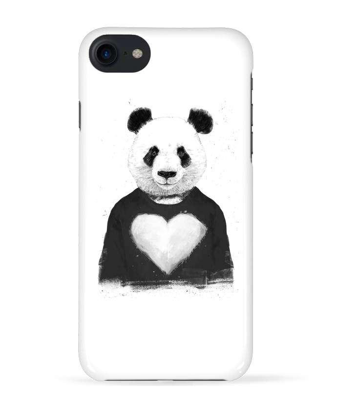 Coque 3D Iphone 7 lovely_panda de Balàzs Solti