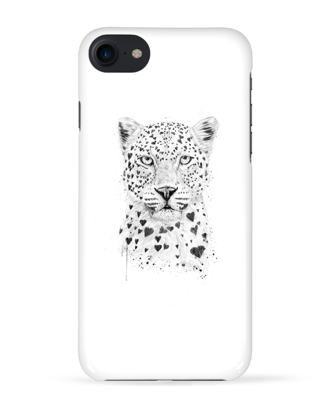 Coque 3D Iphone 7 lovely_leopard de Balàzs Solti