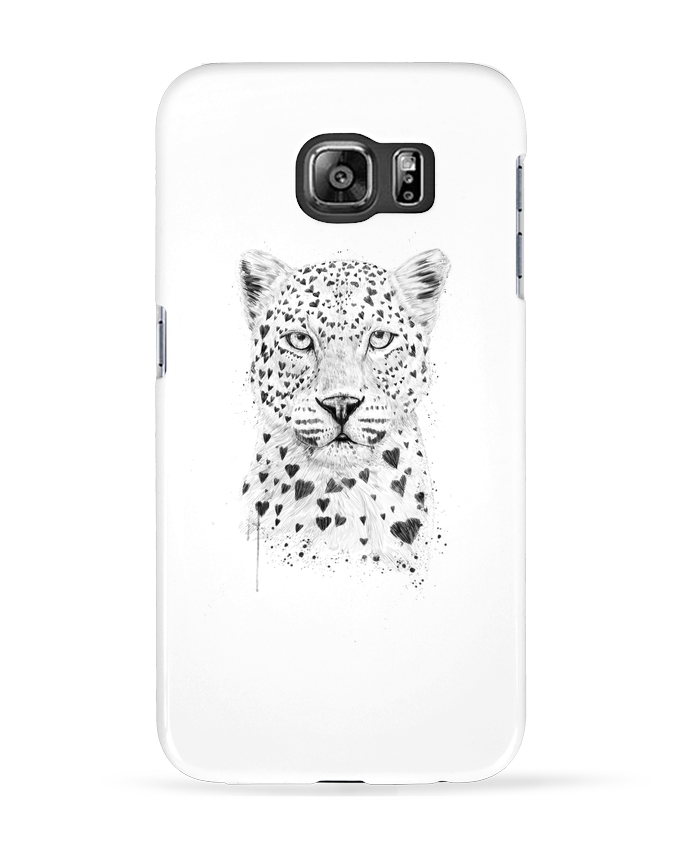 Coque 3D Samsung Galaxy S6 lovely_leopard - Balàzs Solti