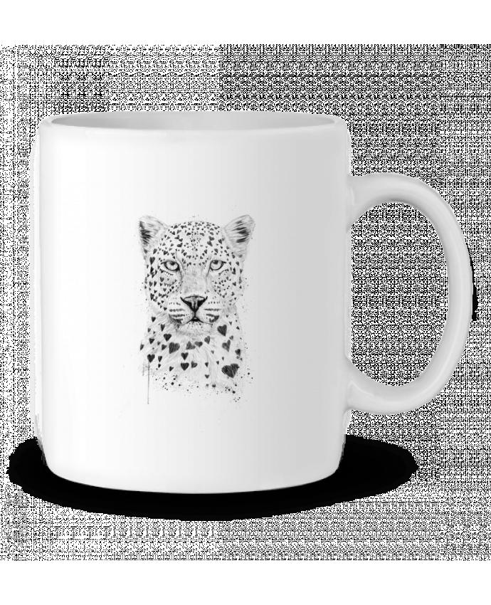 Mug en Céramique lovely_leopard par Balàzs Solti