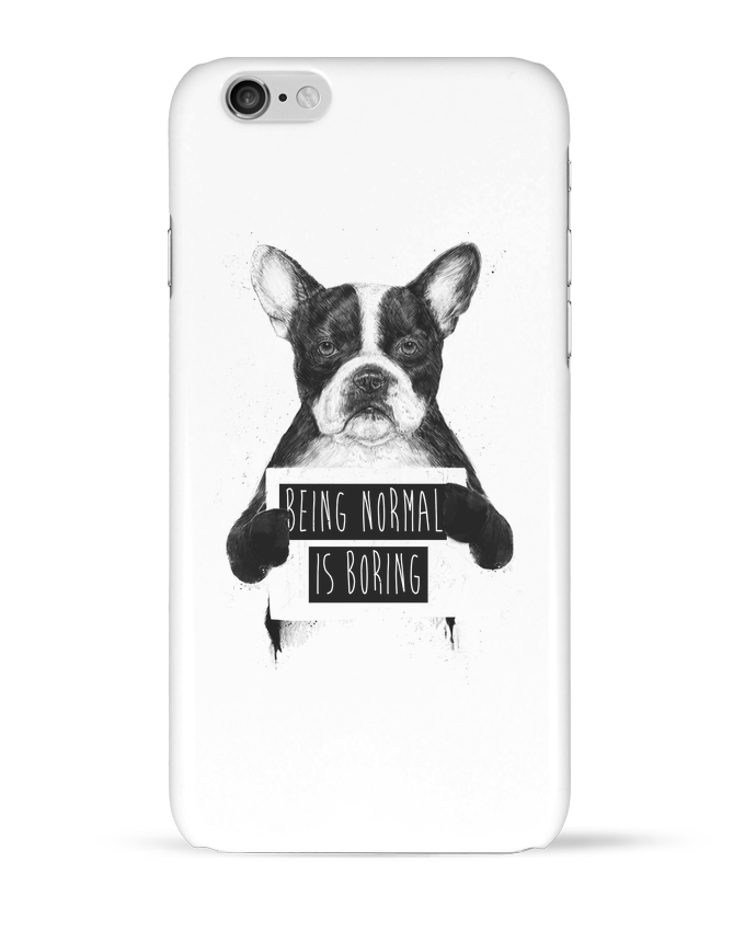 Coque 3D Iphone 6 Being normal is boring par Balàzs Solti