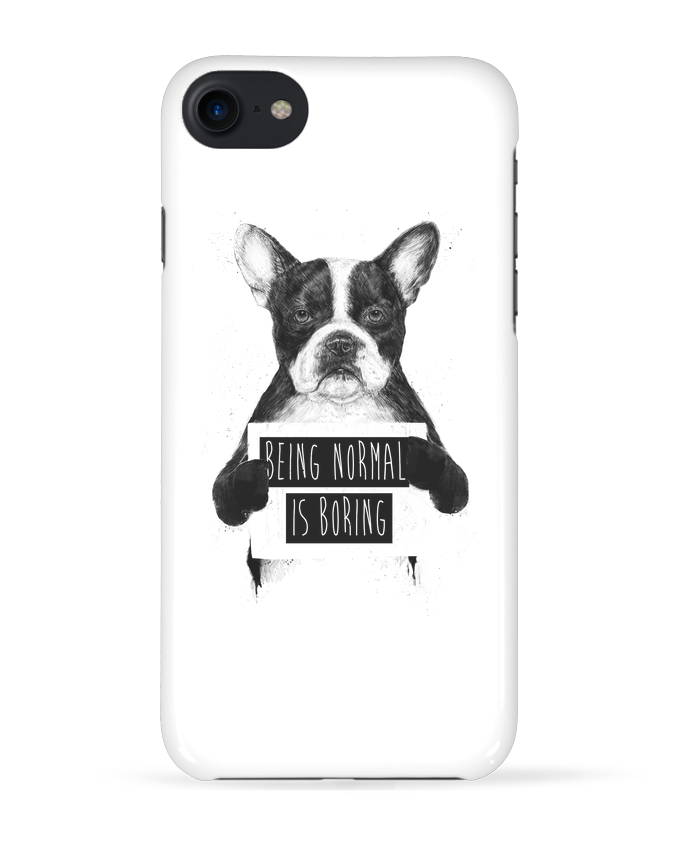 Coque 3D Iphone 7 Being normal is boring de Balàzs Solti