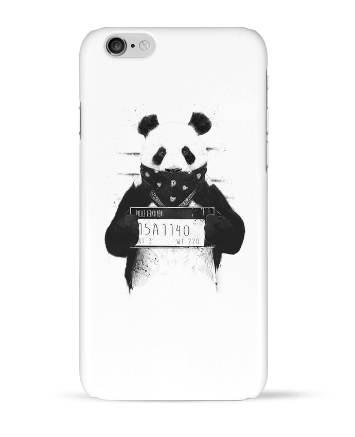 Coque 3D Iphone 6 Bad panda par Balàzs Solti