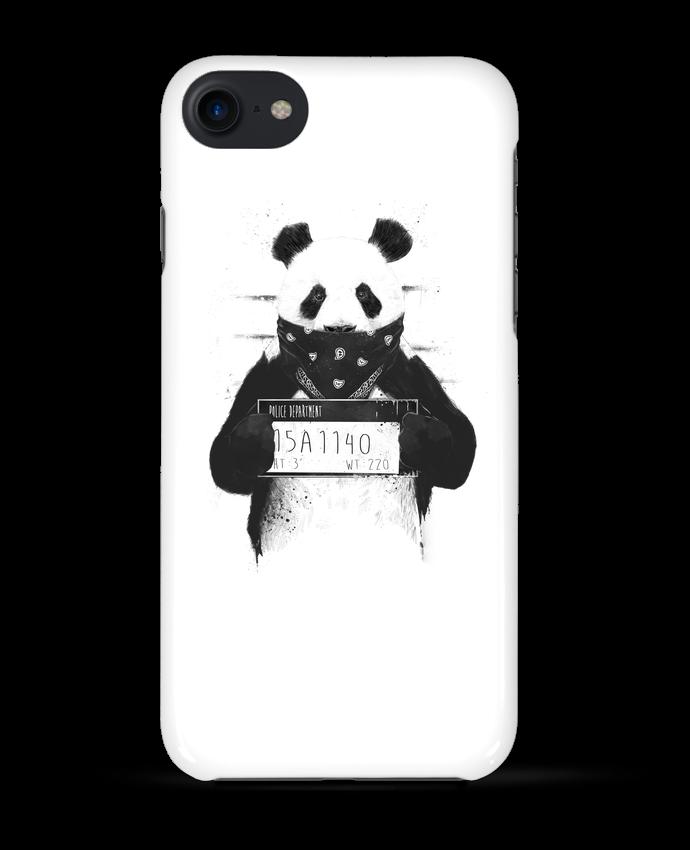 Coque 3D Iphone 7 Bad panda de Balàzs Solti