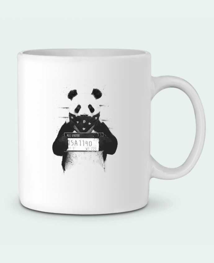 Mug en Céramique Bad panda par Balàzs Solti
