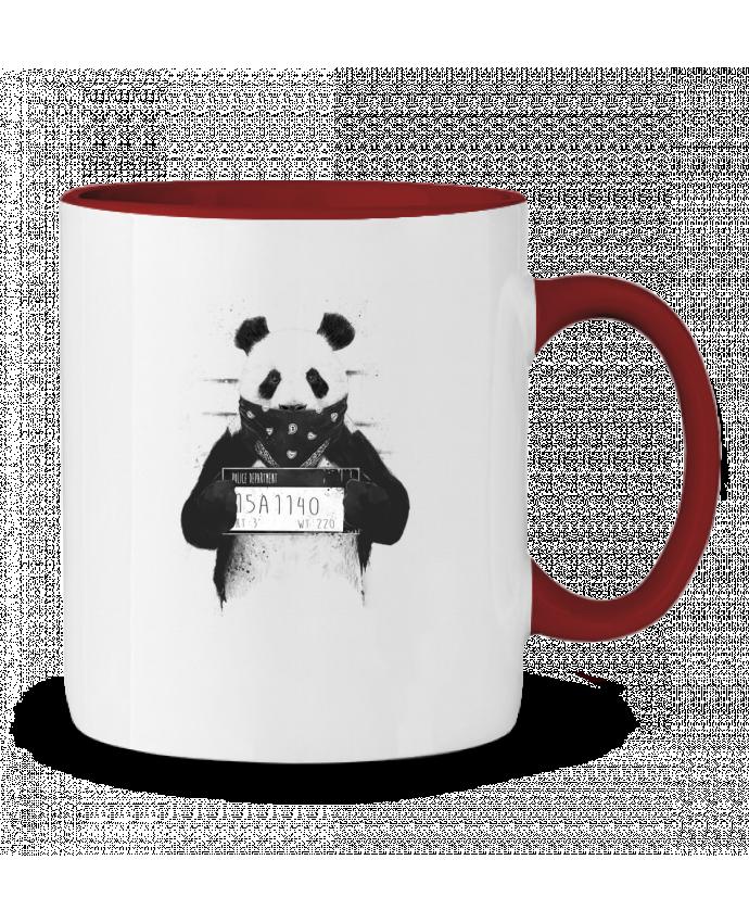 Mug en Céramique Bicolore Bad panda Balàzs Solti