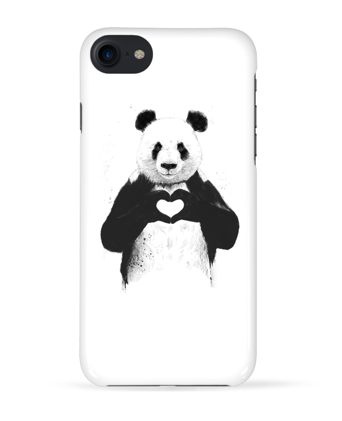 Coque 3D Iphone 7 All you need is love de Balàzs Solti
