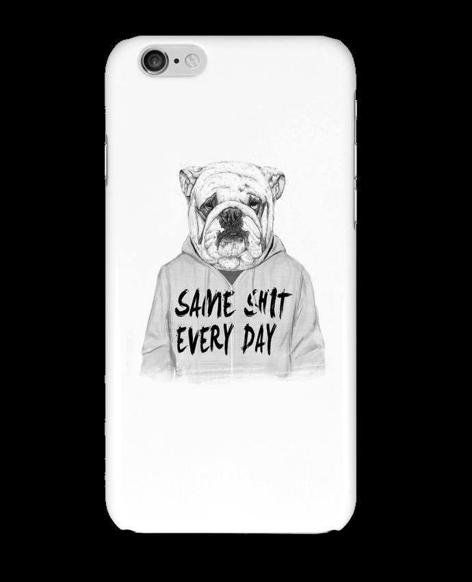 Coque iPhone 6 Same shit every day par Balàzs Solti