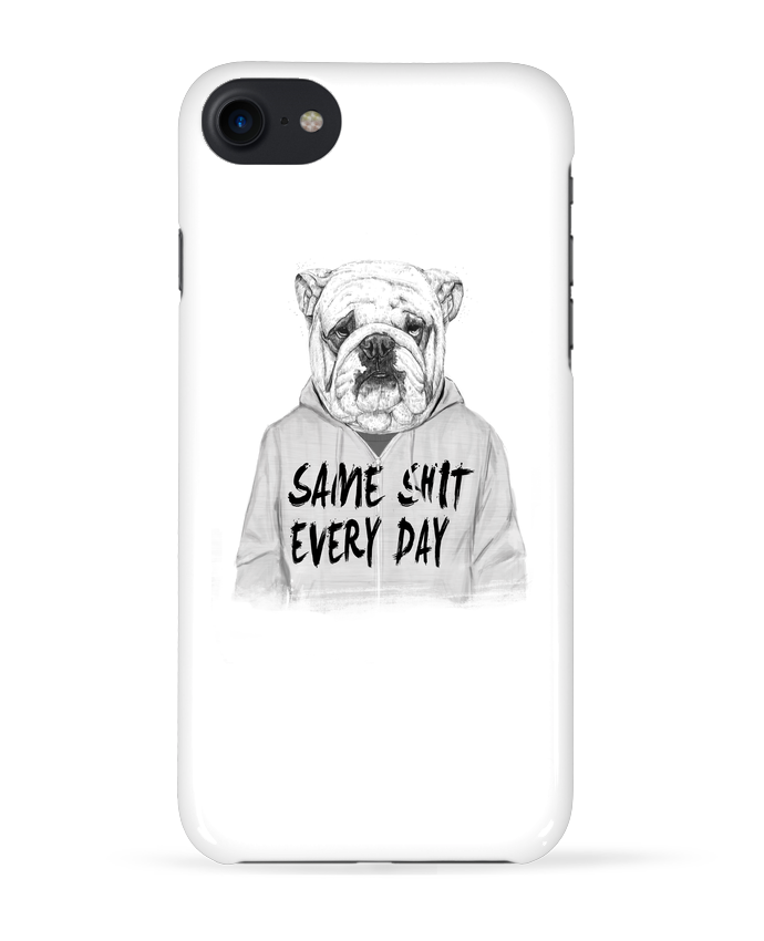 Coque 3D Iphone 7 Same shit every day de Balàzs Solti