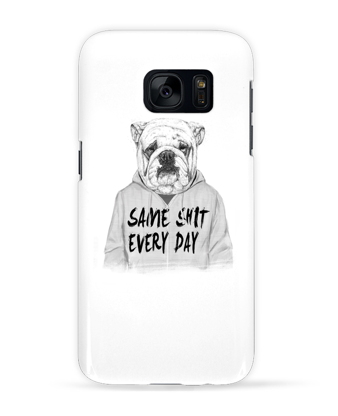 Coque 3D Samsung Galaxy S7 Same shit every day par Balàzs Solti