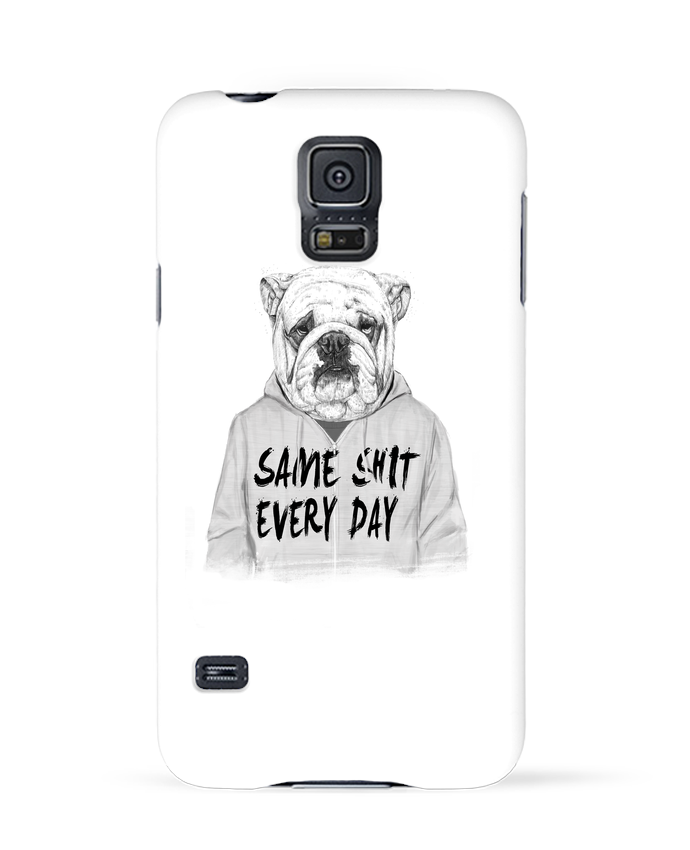 Coque 3D Samsung Galaxy S5 Same shit every day par Balàzs Solti