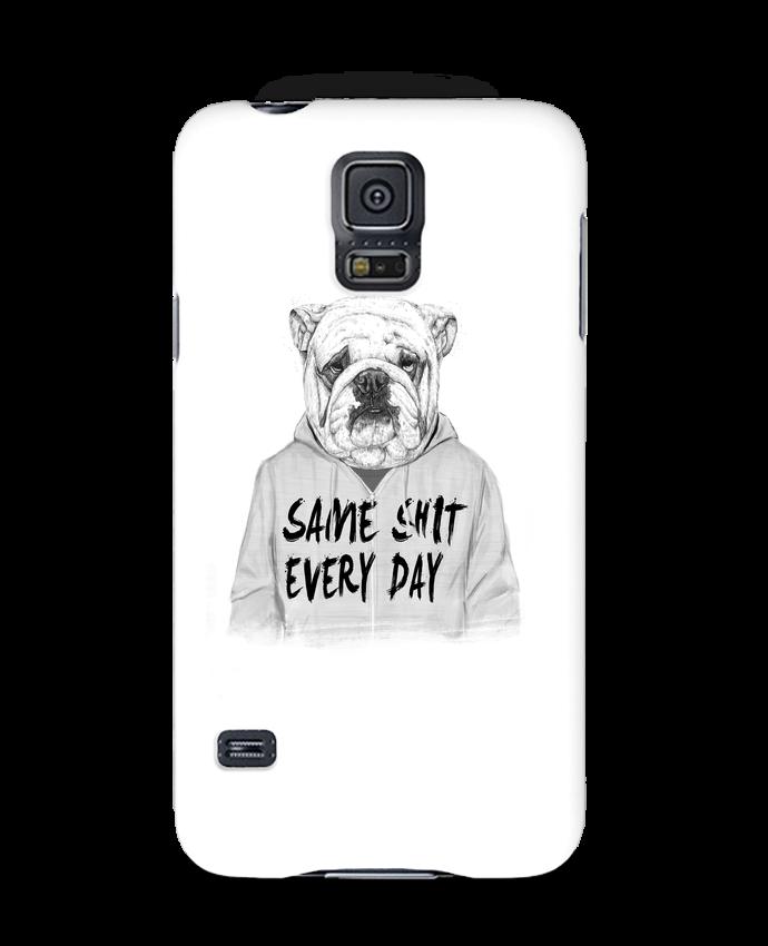 Coque 3D Samsung Galaxy S5 Same shit every day par Balàzs Solti