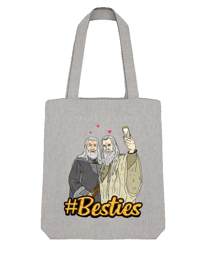 Tote Bag Stanley Stella #Besties Seigneur des anneaux par Nick cocozza