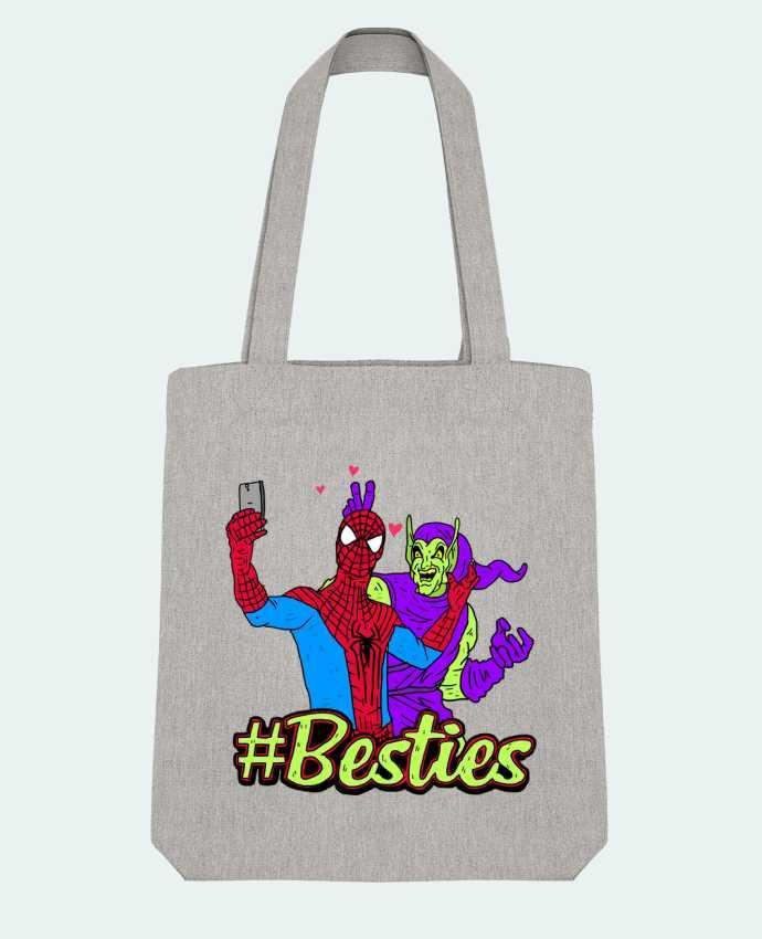 Tote Bag Stanley Stella #Besties Spiderman par Nick cocozza