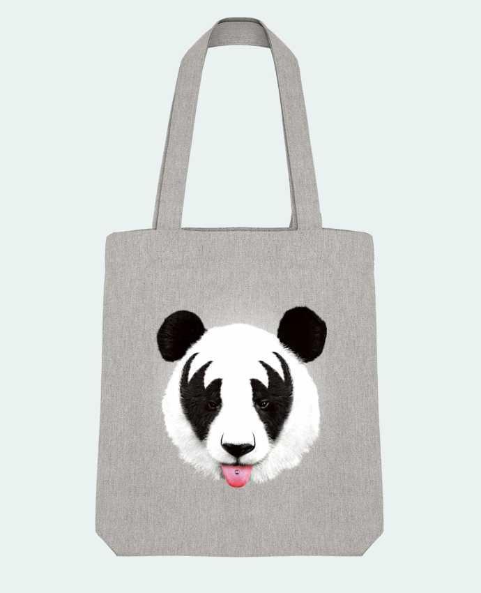 Tote Bag Stanley Stella Kiss of a panda par robertfarkas