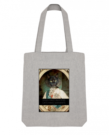 Tote Bag Stanley Stella King Cat par Tchernobayle