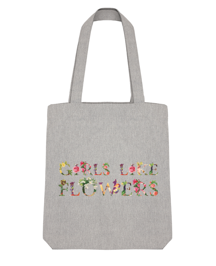 Tote Bag Stanley Stella Girls like flowers par tunetoo