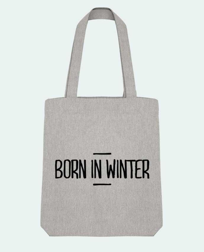 Tote Bag Stanley Stella Born in winter par tunetoo