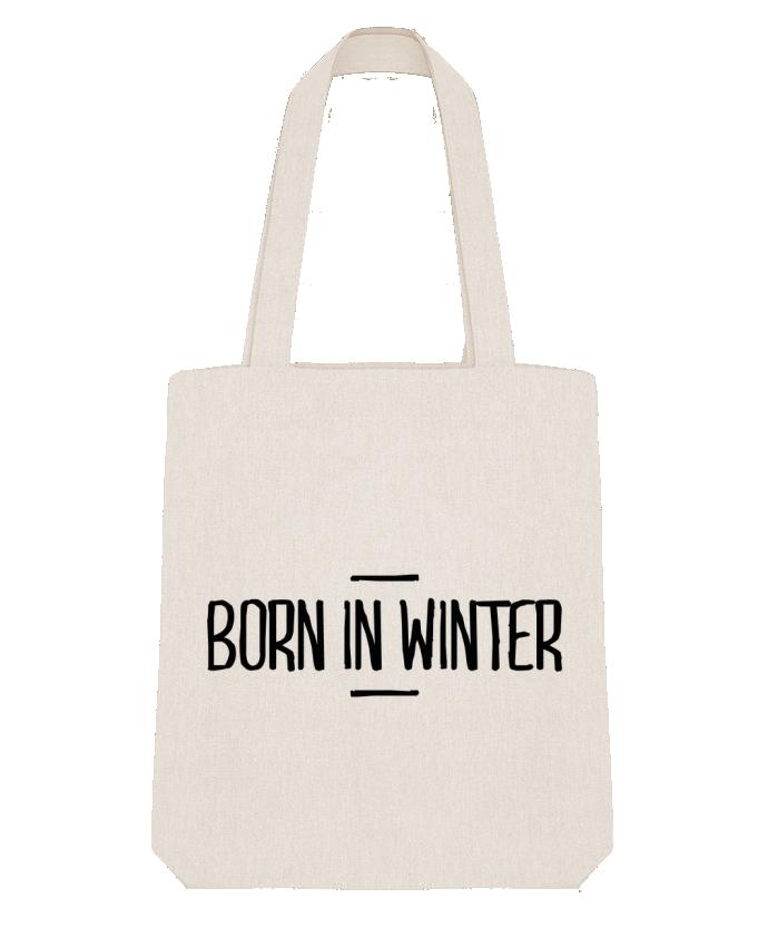 Tote Bag Stanley Stella Born in winter par tunetoo