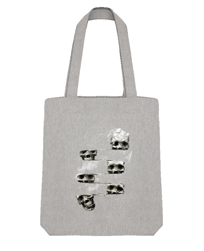 Tote Bag Stanley Stella Skull 3 par ali_gulec