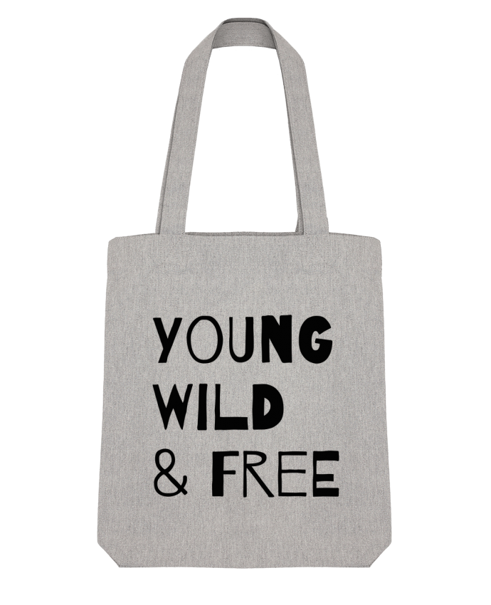 Tote Bag Stanley Stella YOUNG, WILD, FREE par tunetoo