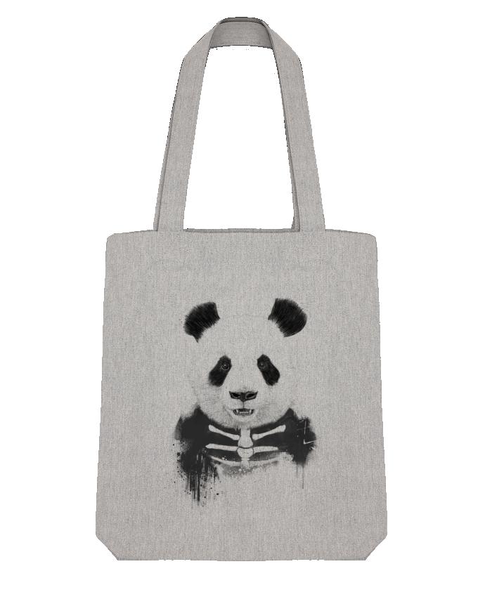 Tote Bag Stanley Stella Zombie Panda par Balàzs Solti