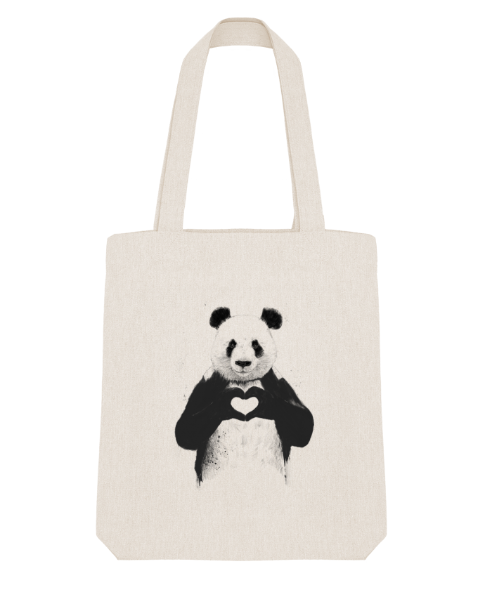 Tote Bag Stanley Stella All you need is love par Balàzs Solti