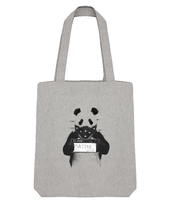 Tote Bag Stanley Stella Bad panda par Balàzs Solti