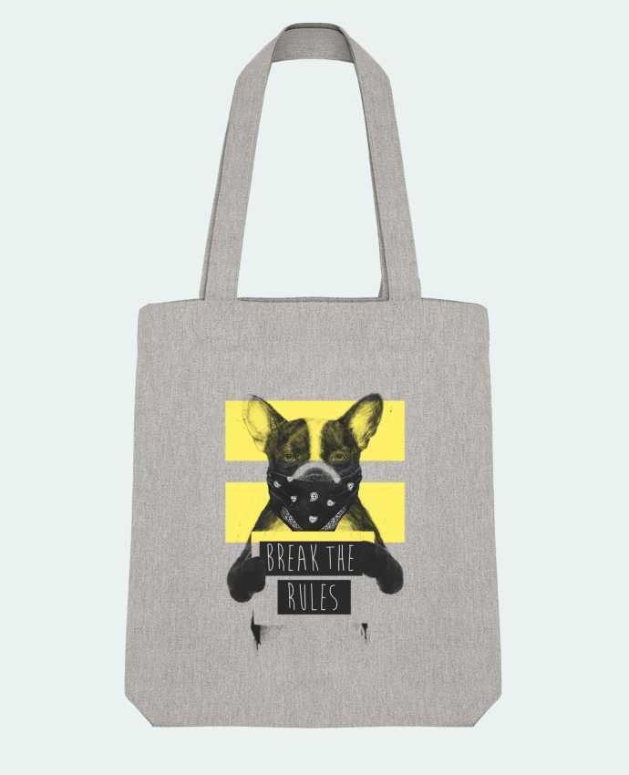 Tote Bag Stanley Stella rebel_dog_yellow par Balàzs Solti