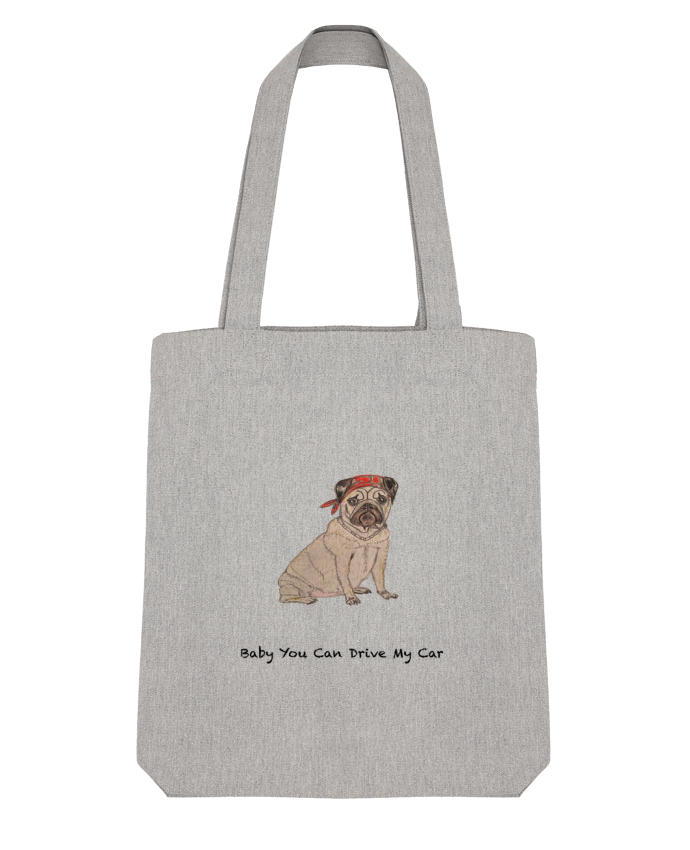 Tote Bag Stanley Stella BABY YOU CAN DRIVE MY CAR par La Paloma