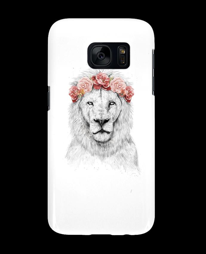 Coque 3D Samsung Galaxy S7 Festival Lion par Balàzs Solti