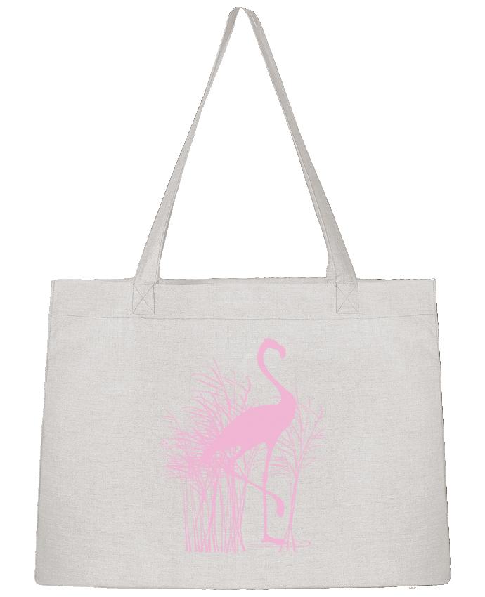 Sac Cabas Shopping Stanley Stella Flamant rose dans roseaux par Studiolupi