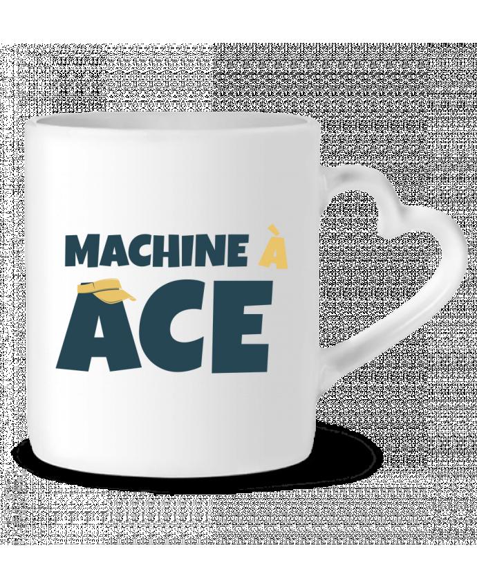 Mug Coeur Machine à ACE par tunetoo
