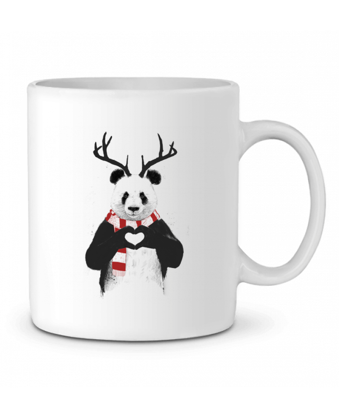 Mug en Céramique X-mas Panda par Balàzs Solti