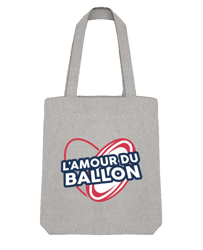 Tote Bag Stanley Stella L'amour du ballon - rugby par tunetoo