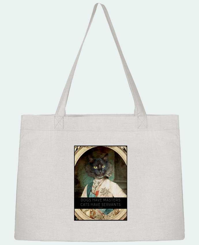 Sac Cabas Shopping Stanley Stella King Cat par Tchernobayle