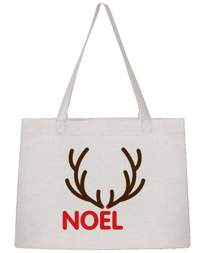 Sac Cabas Shopping Stanley Stella Noël avec bois de renne par tunetoo