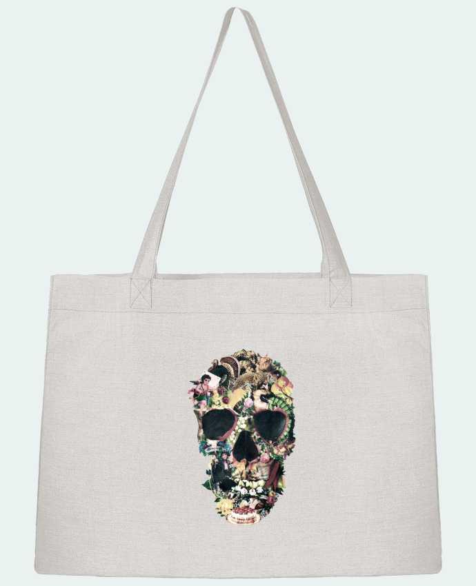Sac Cabas Shopping Stanley Stella Vintage Skull par ali_gulec