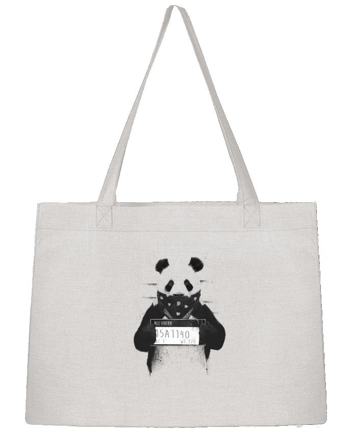 Sac Cabas Shopping Stanley Stella Bad panda par Balàzs Solti