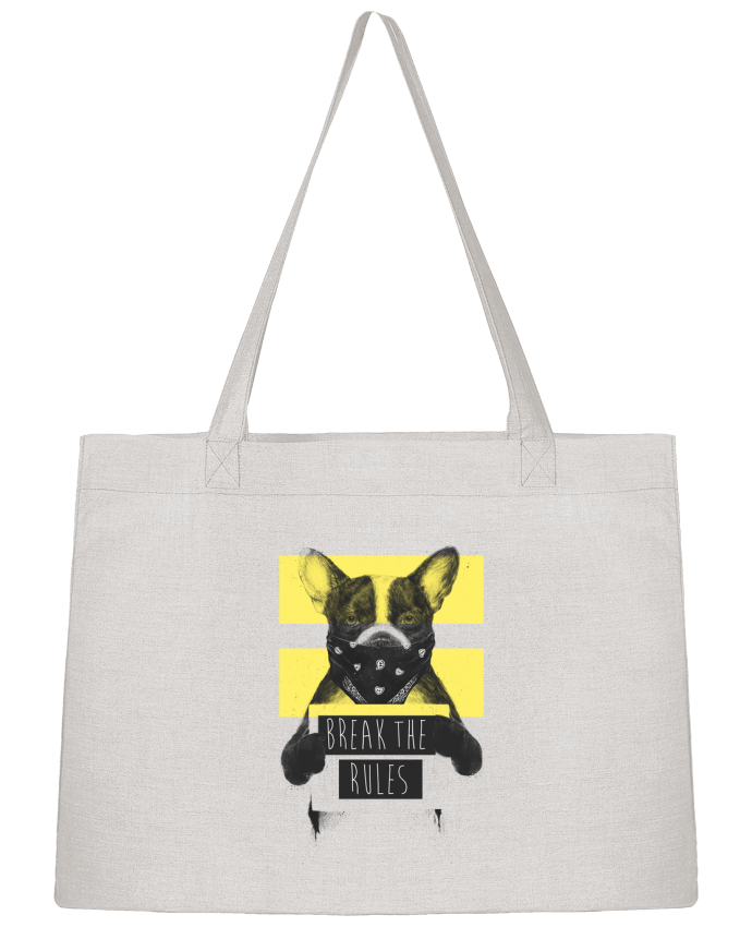 Sac Cabas Shopping Stanley Stella rebel_dog_yellow par Balàzs Solti